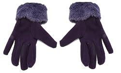 True Gear Women's Winter Gloves (Purple)