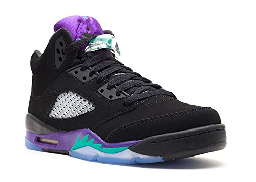 stevenok Leather Basketball Shoes Air Jordan 5 Retro gs Black grape Black new emerald grape ice 011772 2 Athletic Sport Basketball Running Sneaker (Grape Retro 13 Jordan Shoes compare prices)
