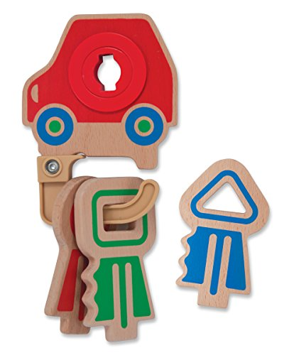 Melissa & Doug Clacking Key Ring