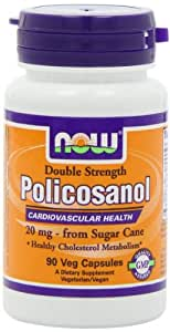 NOW Foods Policosanol 20mg Plus, 90 Vcaps
