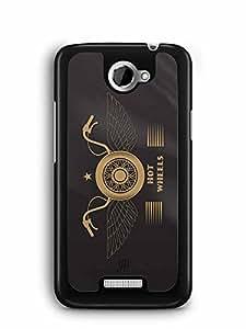 YuBingo Hot Wheels Designer Mobile Case Back Cover for HTC One X