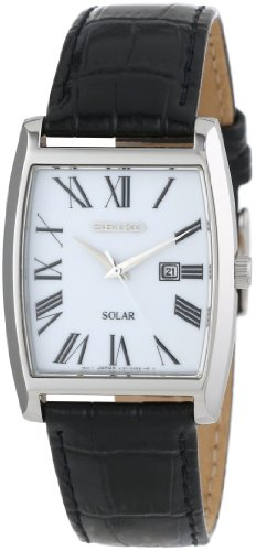 Seiko Men's SUT891 Dress-Solar Classic Strap Watch