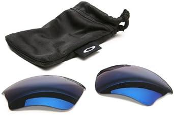 Oakley Lenses 13-408 Ice Iridium Half Jacket Oval Sunglasses