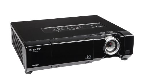 Sharp xv z15000 hd 1080p home theater projector gosale for Hd projector amazon