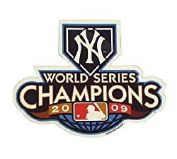 "MLB New York Yankees 2009 World Series Champions 6"" Magnet"