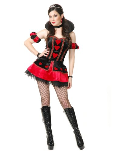 Velvet Queen of Hearts Costume