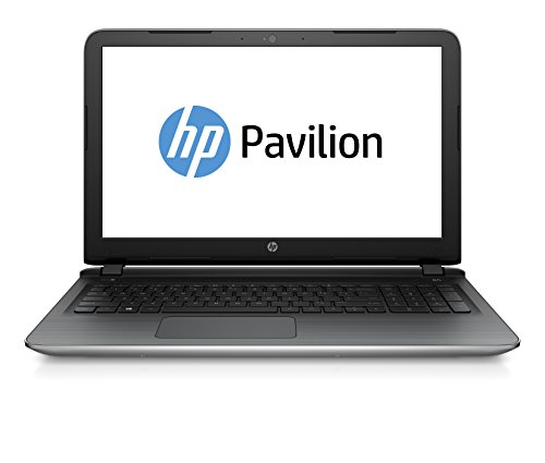 "HP Pavilion 15-ab232nl Notebook, Intel Core i5-6200U, RAM 8GB, HDD SATA da 1 TB, Scheda Video NVIDIA GeForce 940M con 4 GB di RAM dedicati, Display Full HD IPS WLED 15.6"", Argento"