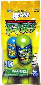 Moose's Mighty Beanz Teenage Mutant Ninja Turtles, 2 Beanz, TMNT, 2003