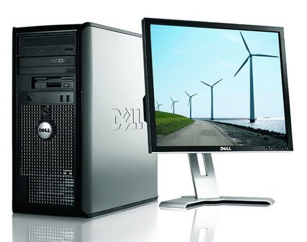 CHEAP DELL OPTIPLEX PC COMPUTER 500GB HDD 3GB RAM 19