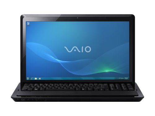 Sony Vaio VPCF22M1E/B.CEK F-Series 16.4 Inch Laptop (Intel Core i7 2GHz Processor, RAM 6GB, HDD 640GB) - Black