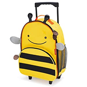 Skip Hop Zoo Little Kid Luggage, Bee