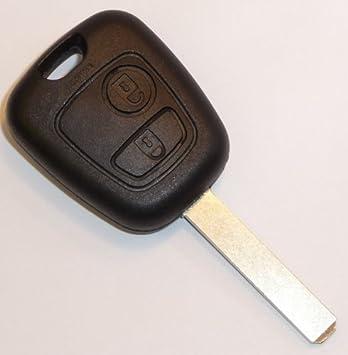 coque cl cl clef boitier t l commande plip pour voiture citroen citroen c1 c2 c3 c4 c5. Black Bedroom Furniture Sets. Home Design Ideas