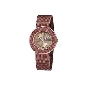 Gucci Women's YA129445 Gucci U - Play Collection Analog Display Swiss Quartz Brown Watch