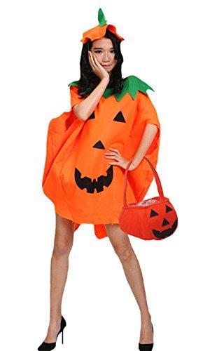 Halloween Pumpkin Costume Set Party Wear