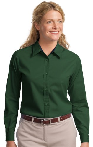 Port Authority Ladies Long Sleeve Easy Care Shirt-2XL