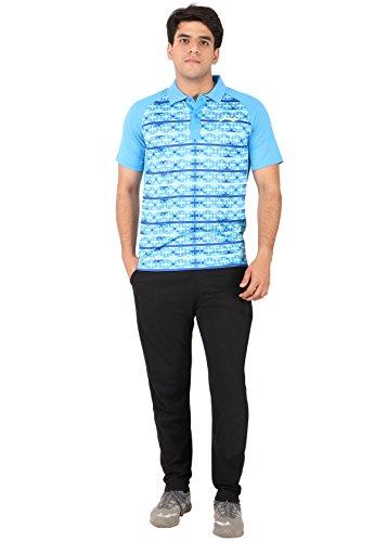Li-Ning Blue Polo T-shirts (MRN-1133)