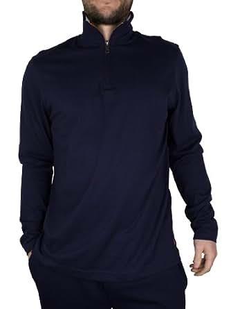 Polo Ralph Lauren - Bleu 1/4 Zip Top - Homme - Taille: XL