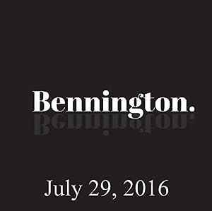 Ron Bennington Archive, July 29, 2016 Radio/TV Program