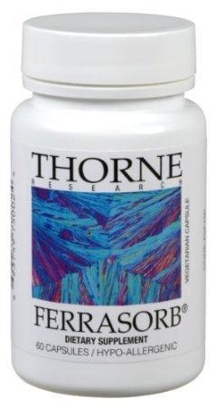 Thorne Ferrasorb, 60 Vegetarian Capsules (Ffp)