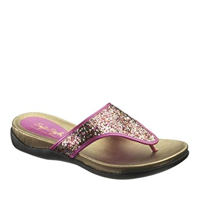Soft Style Women's Riza Sandal 6 B(M) US Multi