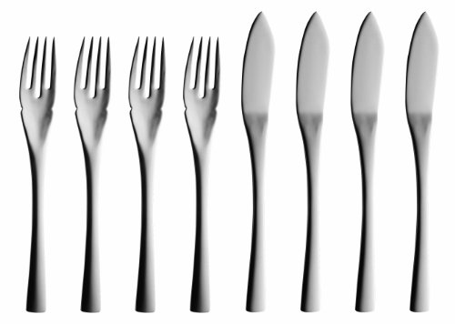 Solex 200402568 Sophia 4-Piece Fish Knives, Set Of 8