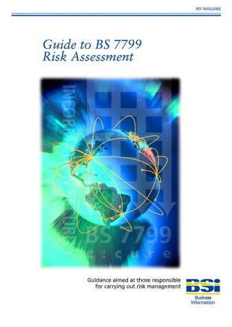 Guide to Bs7799 Risk Management