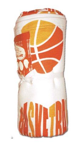 Love It Blanket Basketball White/Orange front-188959