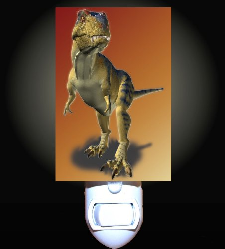 Dinosaur T Rex Decorative Night Light front-1014308