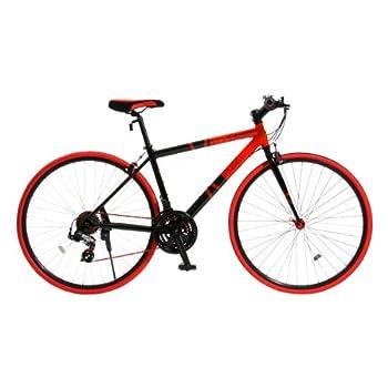 DOPPELGANGER(ドッペルギャンガー) 402 sanctum 700C アルミフレーム クロスバイク シマノ21段変速 LEDライト/ワイヤーロック標準装備