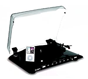 Ion Audio iPROFILE LP to iPod DJ Conversion Turntable