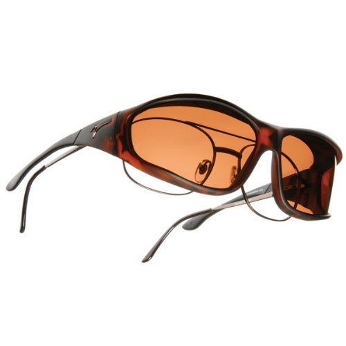 Vistana OveRx Sunglasses Soft Touch Tort Copper L