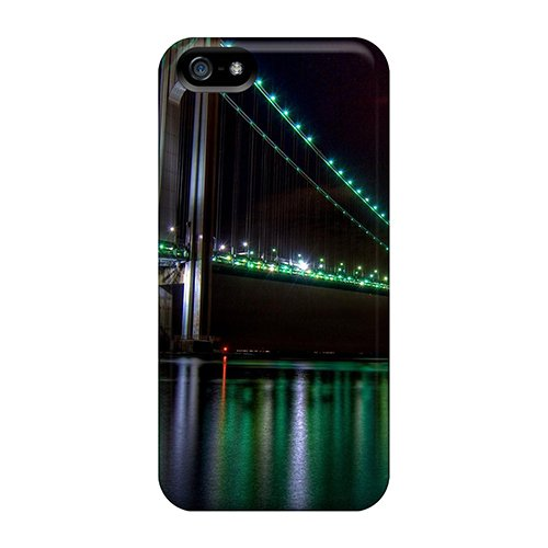 Ckiec9503Ibybd The Golden Gate Bridge Night View Awesome High Quality Iphone 5/5S Case Skin