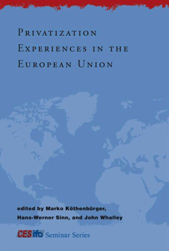Privatization Experiences in the European Union