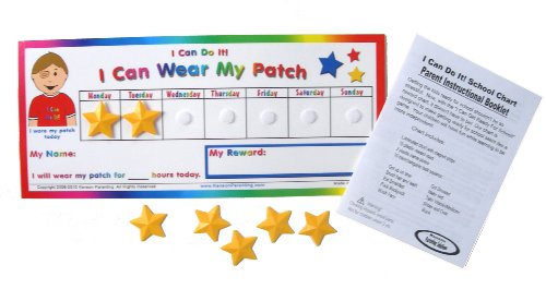 "Kenson Kids ""I Can Wear My Eye Patch"" Reward Chart - 1"