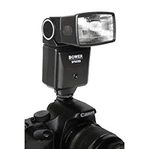 Bower Digital Automatic Flash for Canon Rebel XS - EOS 1000D, XSi - EOS 450D Digital SLR Cameras