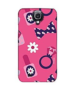 Pick pattern Back Cover for Samsung I9500 Galaxy S4