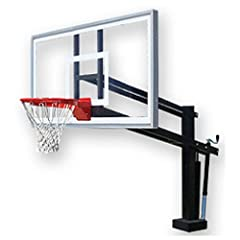 First Team Hydroshot Select Swimming Pool Basketball Hoop with 60 Inch Acrylic... by First Team