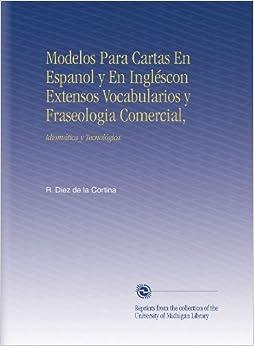 Modelos Para Cartas En Espanol y En Ingléscon Extensos