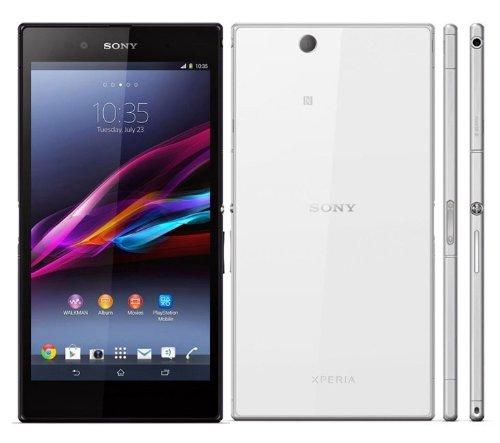 Sony XPERIA Z Ultra C6833 LTE版 (White ホワイト 白)海外SIMフリー携帯チャージングドックDK30付き