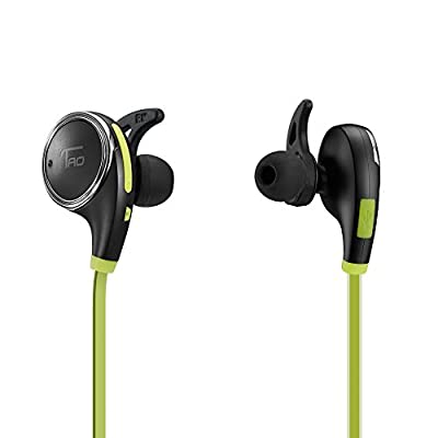 TaoTronics Blutooth In-Ear Headphones Wireless Bluetooth 4.1 Sweatproof Sport Earphones