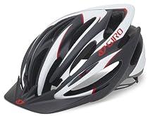 Giro Pneumo Cycling Helmet (Matte Black/Red, Medium)