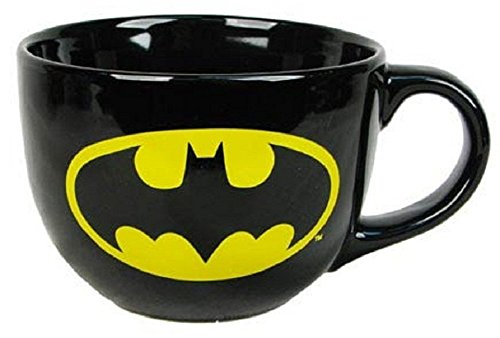 Batman - Logo: 24oz Ceramic Soup Mug