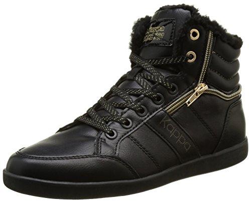 kappa-linwood-sneakers-basses-femme-noir-906-black-shiny-gold-36-eu