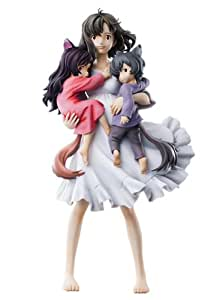 Art Collection Wolf Children Ame and Yuki Hana (Figure): Toys & Games