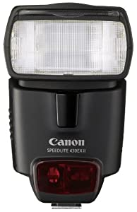 Canon Speedlite 430EX II Flash for Canon Digital SLR Cameras