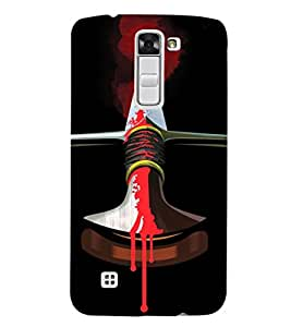 EPICCASE Blood Sword Mobile Back Case Cover For LG K7 (Designer Case)