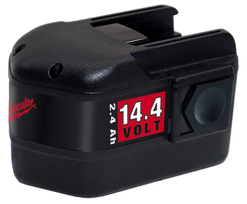 Milwaukee 48-11-1024 14.4-Volt 2.4 Amp Hour NiCad Slide Style Battery