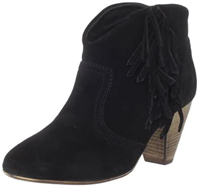 Steve Madden Women's Pisttoll Ankle Boot,Black Suede,6 M US