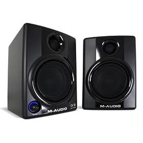 Amazon - M-Audio Studiophile AV30 Professional Speakers - $94.30