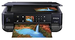 Epson Expression XP-600 Wireless Small-in-One Color Inkjet Printer, Copier, Scanner, 2-Sided Duplex. Prints from Tablet/Smartphone. AirPrint Compatible (C11CC47201)